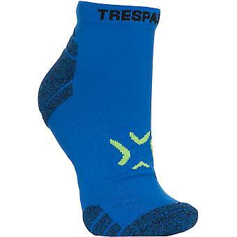Trespass Mens Olrun liuku maton hengittävä nilkka Liner sukat