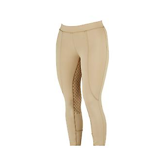 Dublin Performance Cool-it Gel Ladies Riding Tights - Beige