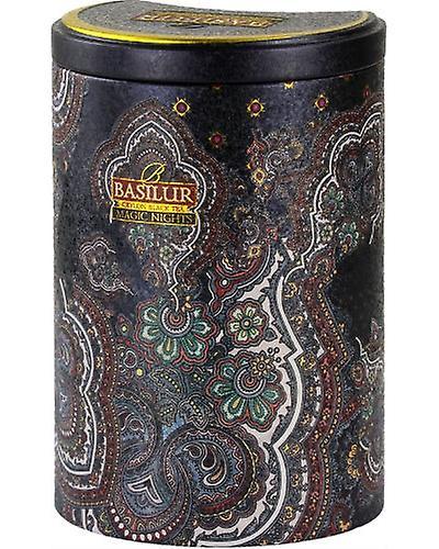 Magic Nights-loose Black Tea With Flavours In Tin Caddyx100g