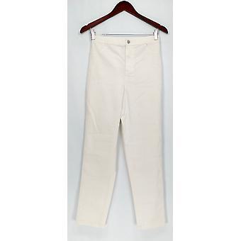 Joan elver Classics Coll. jeans Joan ' s klassisk ankel lengde hvit A303079