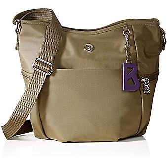 بوغنر 4190000115 حقيبة كتف المرأة البني (البني (كاكي 603)) 15.5x25.5x34 سم (B x H x T)