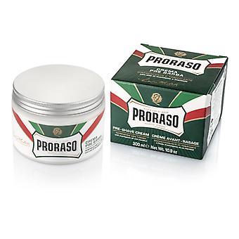Proraso Green Pre-Shave Cream with Eucalyptus Oil 300ml/10.1oz