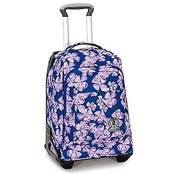 Trolley Tech Invicta Pansy - 34 Lt - Blue - 2 in 1 Unhingable Backpack - School & Travel