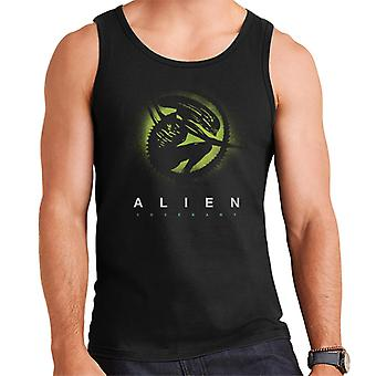 Alien Covenant Xenomorph Silhouette Men's Weste