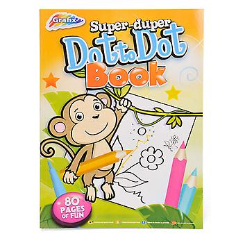 Grafix Super Duper Dot To Dot Book