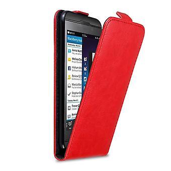 Cadorabo geval voor BlackBerry Z10 gevaldekking-telefoon geval in flip ontwerp met magnetische sluiting-Case cover geval geval geval boek vouwen stijl