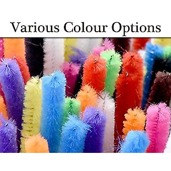 10 Choice of Colours Extra Long & Thick Pipe Cleaners | Chenille Stems