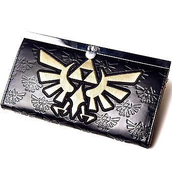 Nintendo Purse Zelda Golden triforce Logo new Official womens
