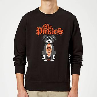 Mr Pickles Ripped Face Sweatshirt - Noir