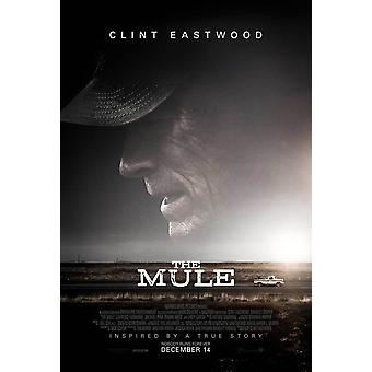 The Mule Original Movie Poster - Double Sided Final Style