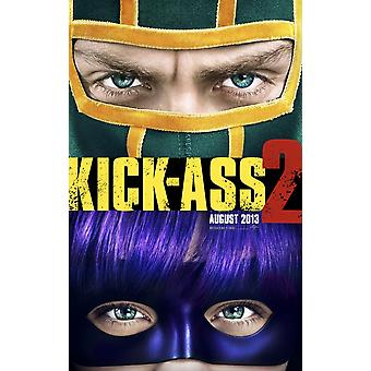 Kick-Ass 2 Poster Double Sided Advance (2013) Original Cinema Poster