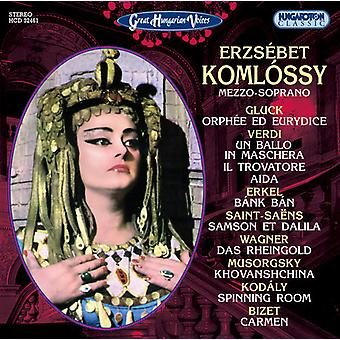 Kodaly, Zoltan/Georges Bizet/Ferenc Erkel/Verdi, Giu - Great Hungarian Voices: Erzs Bet Koml Ssy, Mezzo-Soprano [CD] USA import