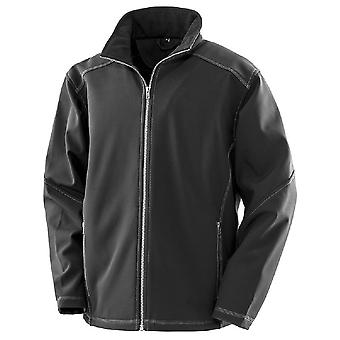Result Mens Work-Guard Softshell Jacket