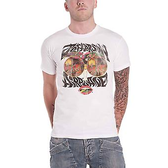 Jefferson Airplane T Shirt Lips Vintage Logo new Official Mens White