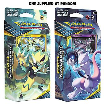Pokemon TCG Sun & Moon 10 Unbroken Bonds Theme Deck (Pacote de 8)