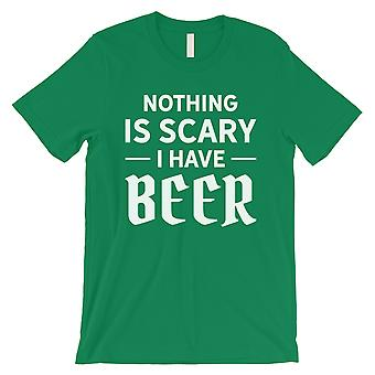 Nothing Scary Beer Mens Green Cool Nice Halloween Costume T-Shirt
