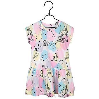 Moomin schilders-jurk roze
