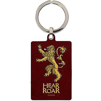 Game Of Thrones Lannister Metal Keyring