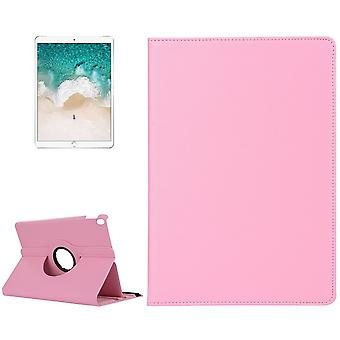 For iPad Air 3 (2019) Case,Lychee Texture Kickstand PU Leather Folio Cover,Pink