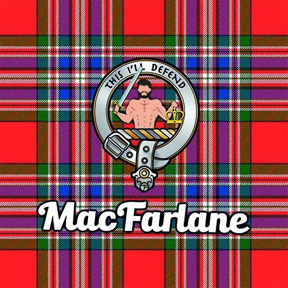 Art2Glass Tartan Clan Coaster - Macfarlane