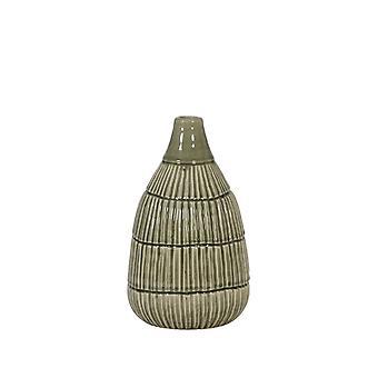 Light & Living Vase Deco 15x25cm Peleda Light Grey