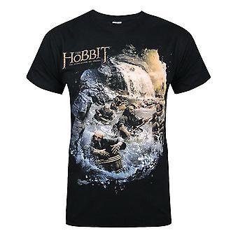 Hobbit: Desolation Of Smaug Barrels Men's T-Shirt