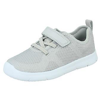 barn adidas gutter aw4884 skinn lav topp blonder opp walking sko