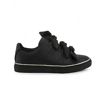 Trussardi - Shoes - Sneakers - 79A00230_K299_BLACK - Women - black,gold - EU 35