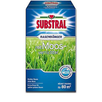 SUBSTRAL® lawn fertilizer with moss destroyer, 2.8 kg