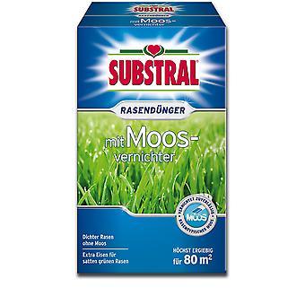SUBSTRAL® Rasendünger mit Moosvernichter, 2,8 kg