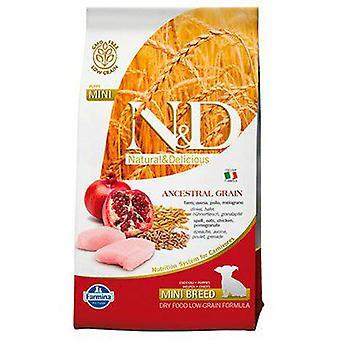 Farmina N&D Low Ancestral Grain Puppy Mini Chicken and Pomegranate