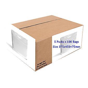Sapphire HDPE Vest Plastic Carrier Bags Box  (Box Of 500)