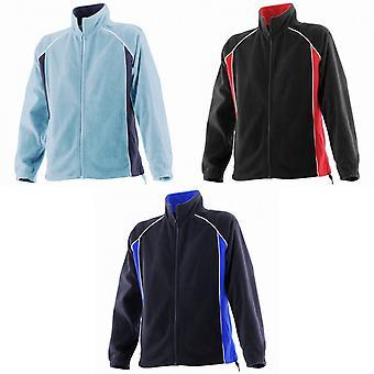 Finden & Hales Womens/Ladies Piped Sports Microfleece Fleece Jacket