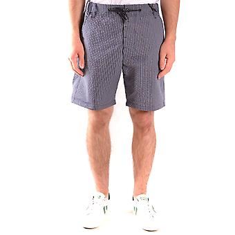 Messagerie Ezbc431005 Men's Blue Cotton Shorts