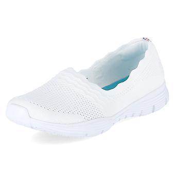 Skechers Domare 158011WHT universella året kvinnor skor