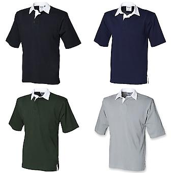 Front Row Short Sleeve Sports Rugby Polo Shirt