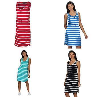 Regatta Womens/Ladies Felixia Striped Sleeveless Dress
