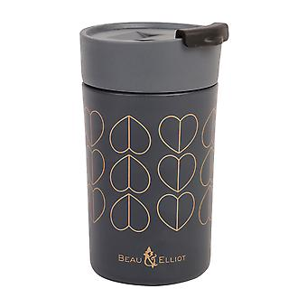 Beau and Elliot Travel Mug, Dove