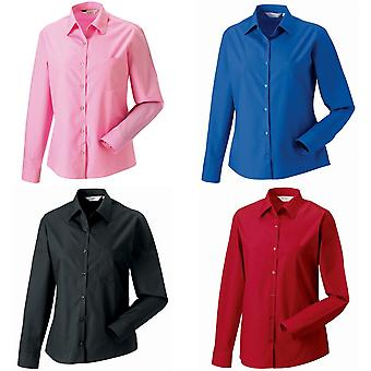 Jerzees Ladies/Womens Long Sleeve Pure Cotton Work Shirt