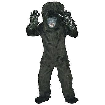 Gorilla Deluxe King Kong Ape Jungle African Wild Animal Book Week Boys Costume