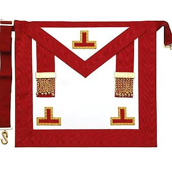 Masonic scottish rite aasr worshipful master apron