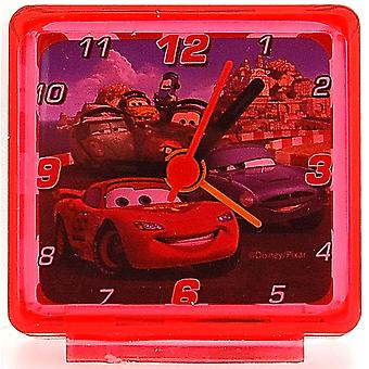 Disneyworld bilar Lightening Mc Queen Red barn Bedside Alarm Clock 53158D