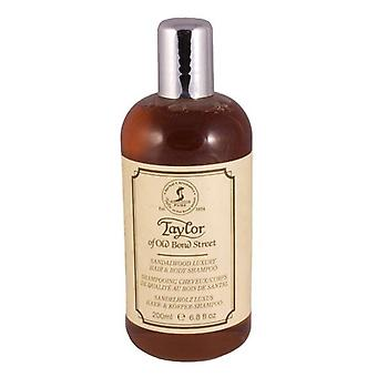 Taylor of Old Bond Street Sandalwood Mens Hair and Body Shampoo 200ml