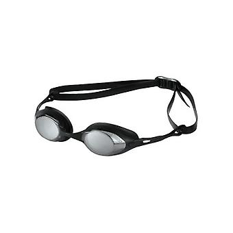 Arena Cobra Mirror Swim Goggle - Mirrored Lens - Smoke/Silver/Black