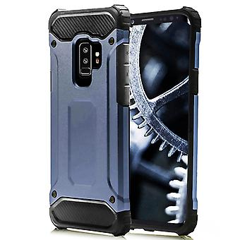 Shell for Samsung Galaxy S9 Dark Blue Armor Protection Case Hard