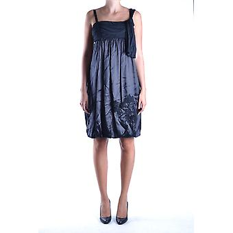 John Galliano Ezbc164064 Women's Black Silk Dress
