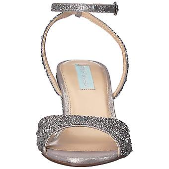 Betsey Johnson Womens Elora Peep Toe Casual Ankle Strap Sandals