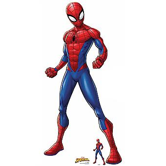 Spider-Man Spiderverse Official Lifesize Marvel Cardboard Cutout