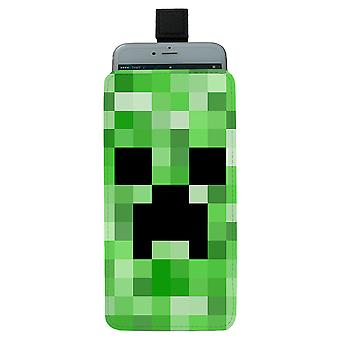 Minecraft Creeper Universal Mobile Bag