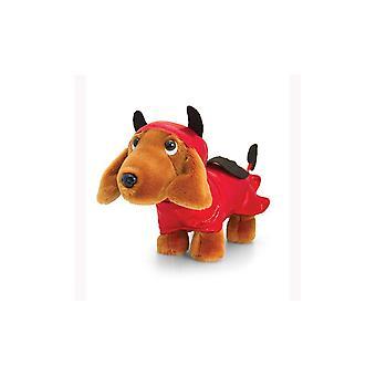 Keel Toys Douggie The Sausage Dog Devil 26cm